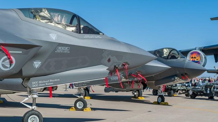 © Doug Monk - RNoAF, USAF and ITAF F-35As - Luke AFB Airshow 2018