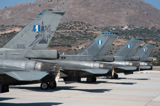 © Duncan Monk - HAF F-16 505 613 500 511 - 115 Combat Wing – Hellenic Air Force – Cretes Ghost Vipers