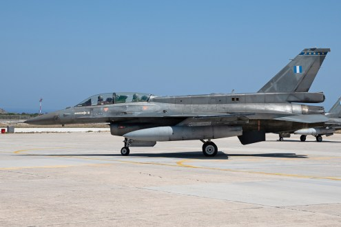 © Duncan Monk - HAF F-16D 613 Side on - 115 Combat Wing – Hellenic Air Force – Cretes Ghost Vipers