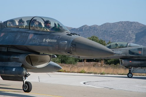 © Duncan Monk - HAF F-16D & F-16C - 115 Combat Wing – Hellenic Air Force – Cretes Ghost Vipers