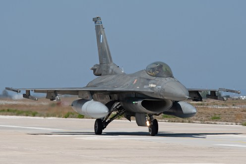© Duncan Monk - HAF F-16C 500 - 115 Combat Wing – Hellenic Air Force – Cretes Ghost Vipers