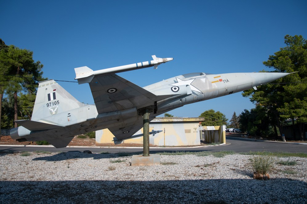 © Duncan Monk - HAF Northrop F-5A 97105 - 115 Combat Wing – Hellenic Air Force – Cretes Ghost Vipers