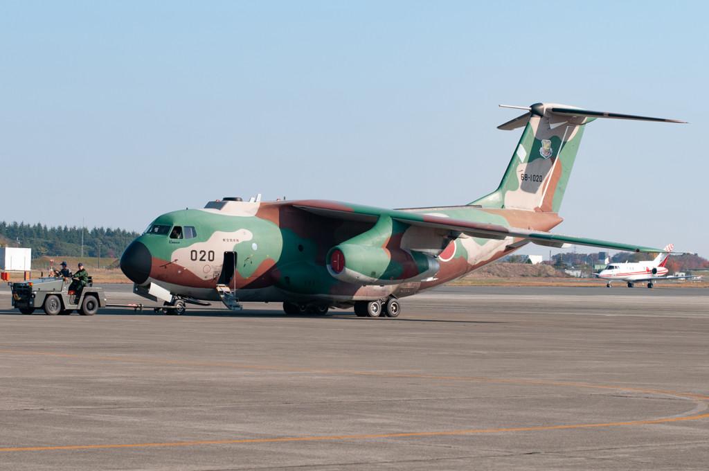 ©Duncan Monk - JASDF Iruma Kawasaki C-1