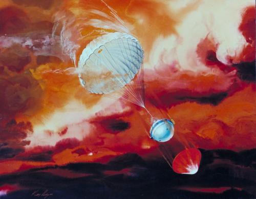 Galileo Probe Picture
