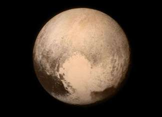 Dwarf Planet Pluto New Horizons Picture