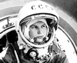 First Woman in Space - Valentina Tereshkova