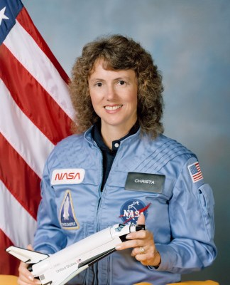 Christa McAuliffe - NASA Teacher in Space Picture