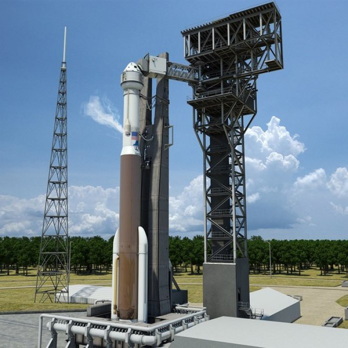 Atlas V carrying a Boeing CST-100 Starliner Picture