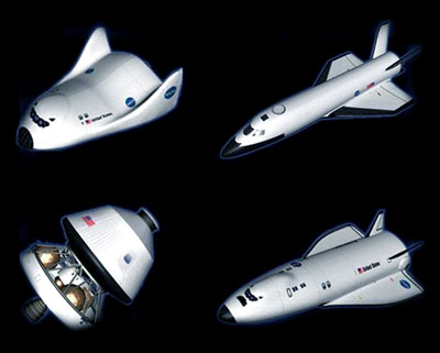 NASA Orbital Space Plane Concepts.