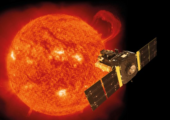 Soho Spacecraft Sun Picture