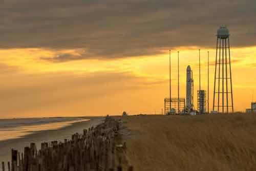 Antares Rocket January 2014