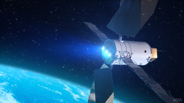 Solar Electric Propulsion Spacecraft Picture