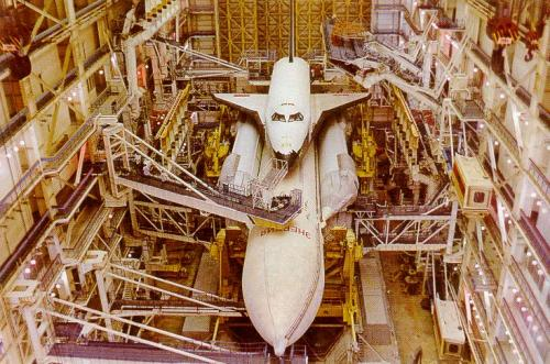 Buran and Energia Launch Vehicle