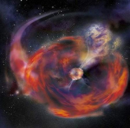 Christmas Space Burst Picture