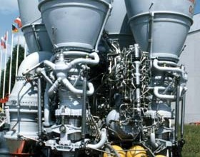 RD-170 Rocket Engine Picture - Used Sea Launch