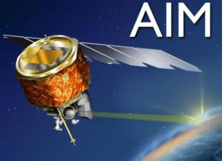 Aim Spacecraft on Planet Earth