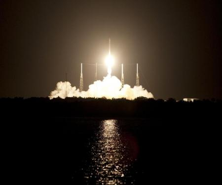 First commercial resupply mission to the International Space Station Picture