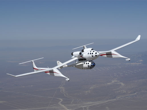 White Knight Aircraft - Mothership to SpaceShipOne