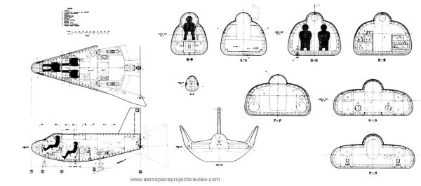 Martin Marietta HL10 concept model Aerospace Projects