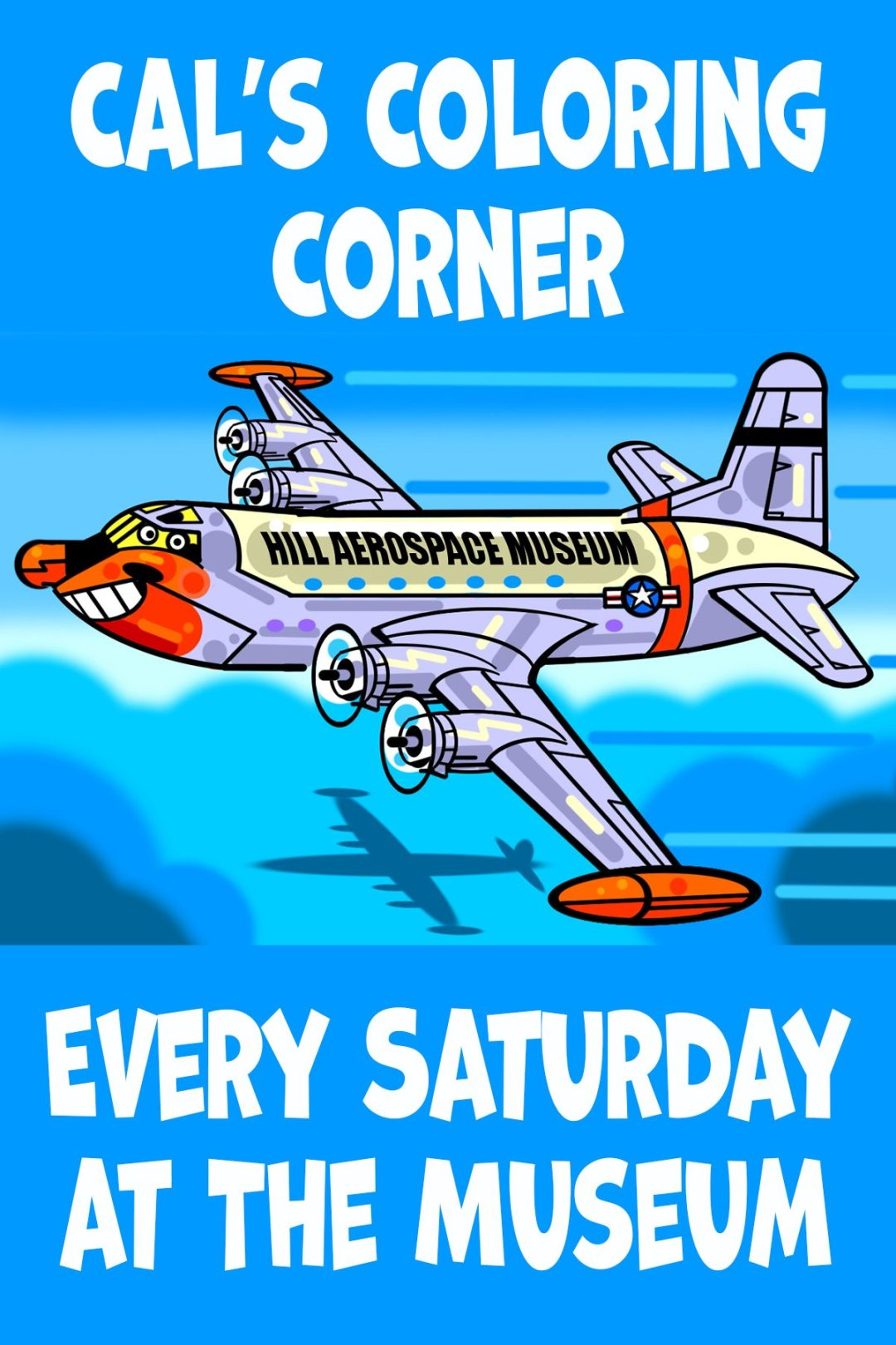 Cal's Coloring Corner Every Saturday