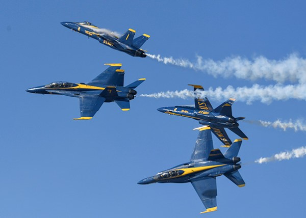 Blue Angels announce 2018 air show schedule changes ...