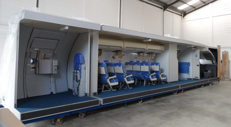 cabin training device 1