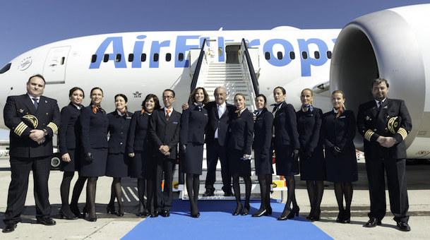 Air Europa Presenta Su Primer Boeing 787 Dreamliner