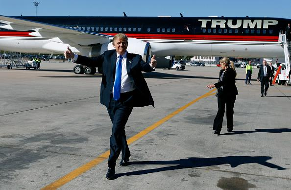 Image result for trump boeing 757