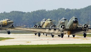 2019, une trentaine de C-47 sur la Normandie…