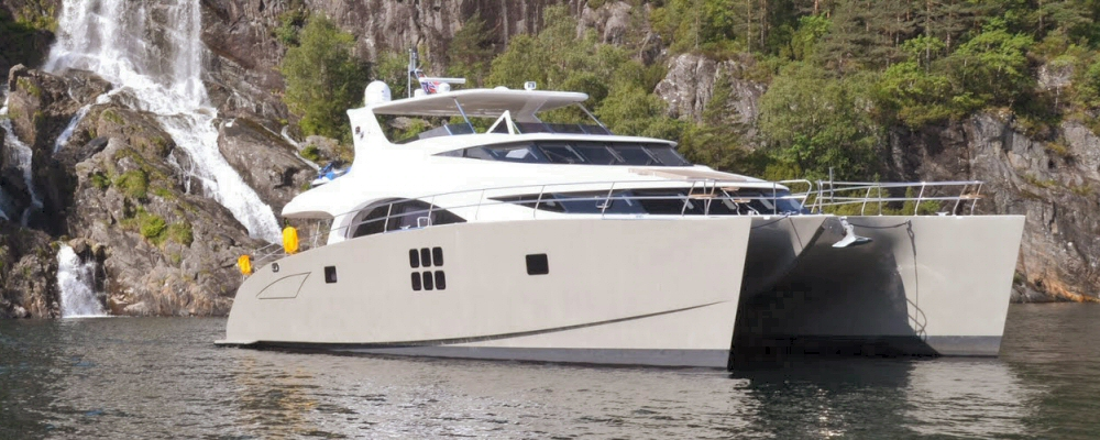 Sunreef 60 power catamaran