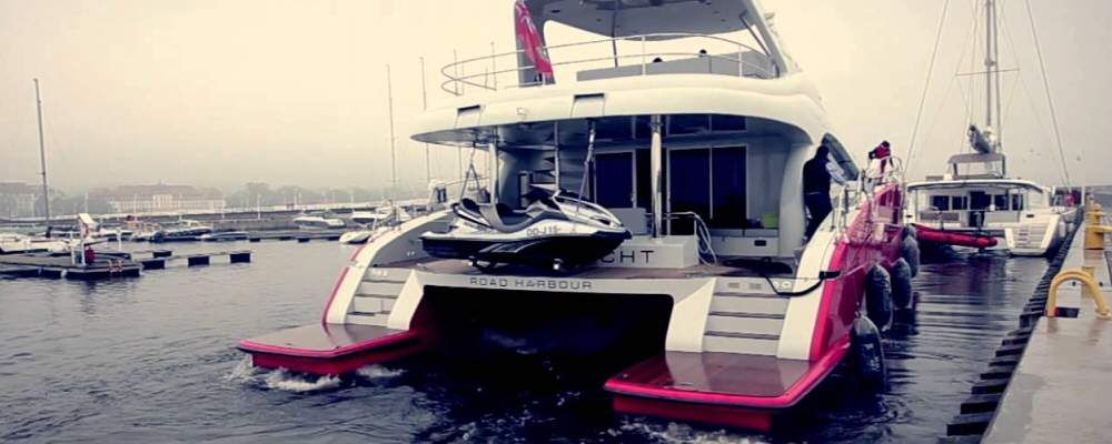 Sunreef power catamaran
