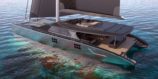 100' SUNREEF catamaran
