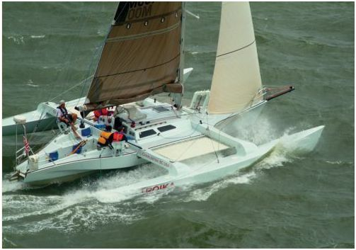 1996 Condor 40 Trimaran For Sale Trimaran For Sale LI NY