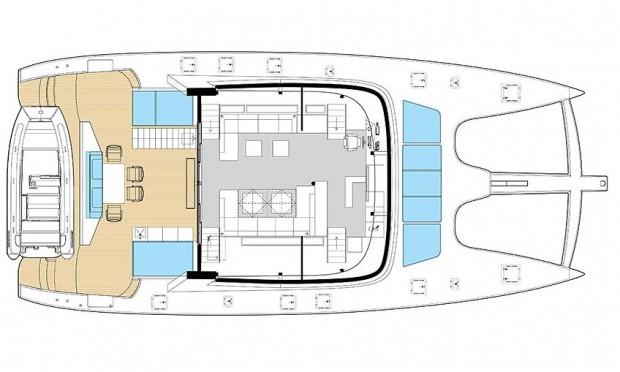 Sunreef Yachts 74 Layout