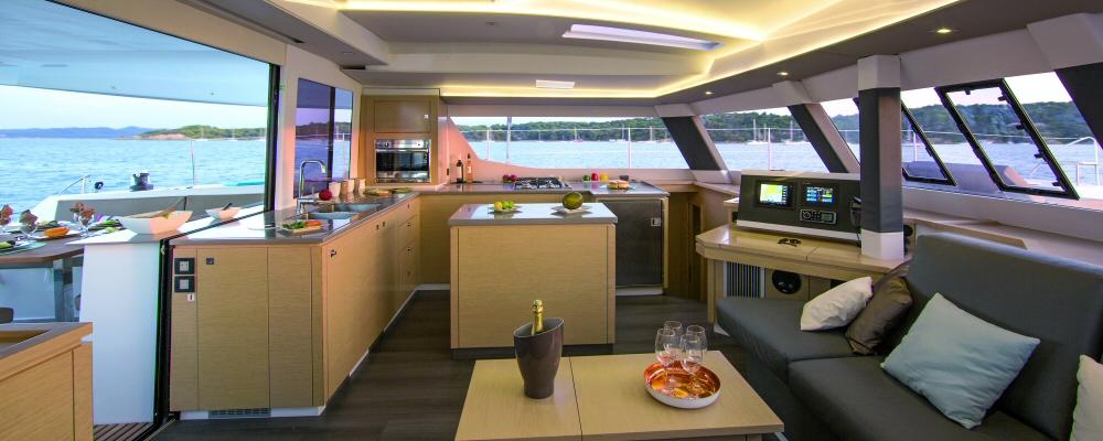 Helia 44 catamaran