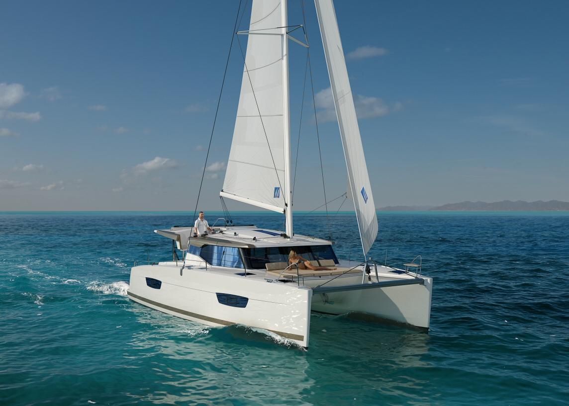New Fountaine Pajot Lucia 40 Catamarans For Sale