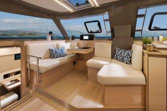 Bavaria Nautitech 40 Open catamaran 123 navigation station