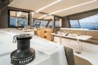 Bavaria Nautitech 40 Open catamaran 123 winch