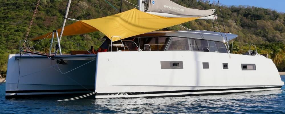 FLO Bavaria Nautitech 46 catamaran Aeroyacht Charters