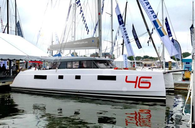 Bavaria 46 Open catamaran