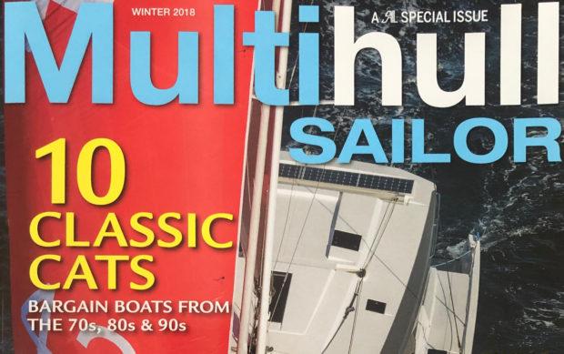 Gregor Tarjan's article Multihull Sailor- 10 Classic Cats