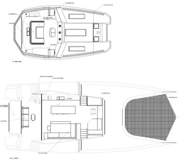McConaghy 68 catamaran New Flybridge Design