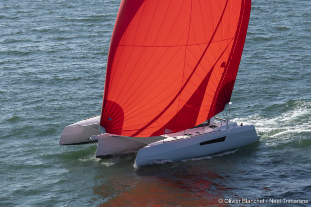 Neel 47 trimaran leads 2019 ARC transatlantic race - Aeroyacht Multihull Dealers