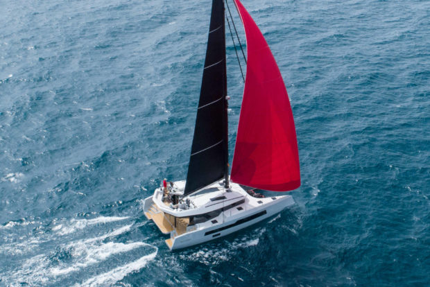 McConaghy MC60 catamaran at the Miami Boat Show 2020