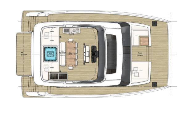 60' Sunreef Power Yacht Layout