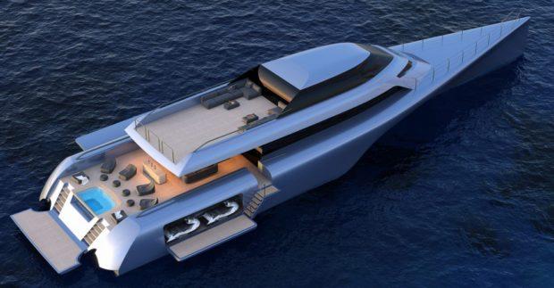 McConaghy MC155 Superyacht Trimaran