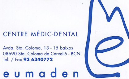 CENTRE DENTAL EUMADEN
