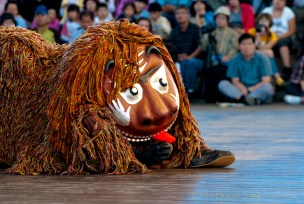 Korean_lion_dance
