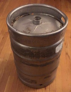 My brand new (brand new like a used car) Keg!