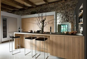 A Modern Rustic styled kitchen.